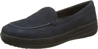 fitflop 女式 f-sporty 磨砂懒人鞋