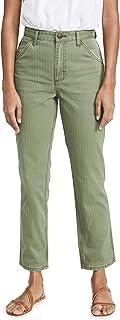 Lee 复古现代女式高腰粗布及踝牛仔裤