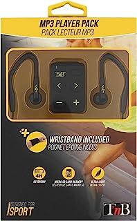 T 'nB SPMP3(MP3 播放器,耳机运动臂带 - 黑色