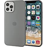 Elecom 宜麗客 iPhone 12 / 12 Pro 保護殼 保護殼 軟質 薄款 黑色 PM-A20BUCUBK