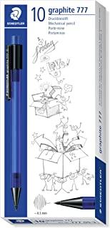 Staedtler 施德楼 办公 学生 彩色 自动铅笔(盒装/10入) 777 05-3-10(0.5mm蓝色)
