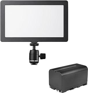 Walimex Pro 21243 Soft LED 200 平板 双色 黑色21374 Square Bi Color Set1 黑色