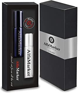 Alfamarker 费洛蒙男士吸引女士男士信息素高度浓缩香水(无限)。2 x 5 ml