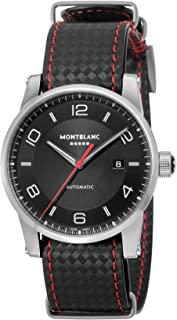 Montblanc 万宝龙手表 Timewalker 黑色表盘自动上弦115361男士 (非日本发行正品)