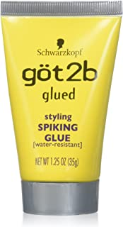 Schwarzkopf got2b 胶水造型尖头胶,3.18 克(6 支装)