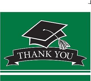 Creative Converting Graduation School Spirit Green 感谢笔记,4 x 5