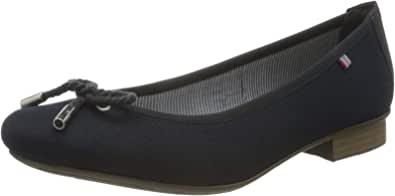 Rieker 女士 春季/夏季闭口芭蕾舞鞋