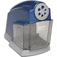 X-ACTO SchoolPro 教室电动卷笔刀,重型,蓝色/灰色