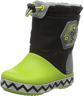 Crocs Lights Lodge Point RoboSaur 一脚蹬鞋(幼儿/小童)