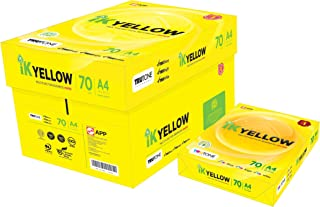 高白复印纸 A4 IK Yellow 450张