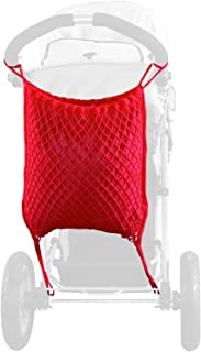 sunnybaby 12176 – 购物网,通用网,适用于慢跑者 – 婴儿车 | 带有实用的隐私保护/内衬 | 通用锚钩 – 颜色:红色 | 质量:德国制造