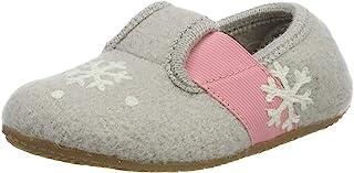 Living Kitzbühel 女童 T 型冬季火烈鸟和雪花低帮家居鞋
