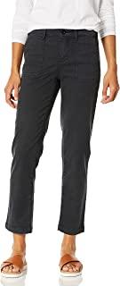 NYDJ 女式直筒及踝斜纹棉布裤