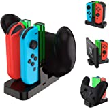 Talkworks Joycon + 控制器充电底座 适用于 Nintendo Switch - Nintendo Sw…