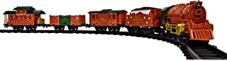 Lionel 北极星微型模型火车玩具套装,电池供电,多色