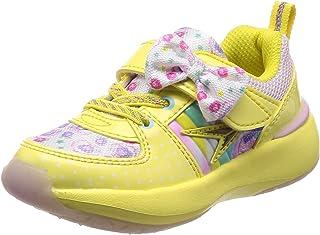 [ 瞬足 ] 運動鞋學生鞋少女檸檬派 syunsoku Cream LEC 5290?15?cm ~ 23?cm 1.5?E 女孩