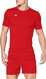 Le Coq Sportortif 男士 N°1 训练短裤,红色(复古红),M