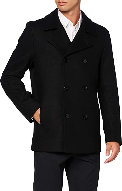 HUGO Hugo Boss 雨果·博斯 Balno2041 羊毛混纺男式外套 50435553 XXL码优惠码折后¥1117.16