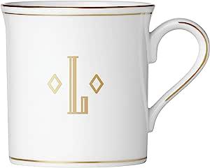 Lenox 联邦金块交织字母餐具 字母 L 874365