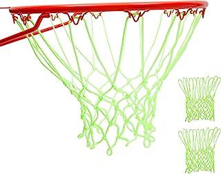 Zodaca 夜光篮球网,户外运动游戏(2 件装)