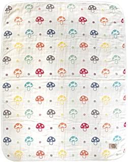 Hoppetta 小蘑菇 6层透气纱布 迷你宝宝空调被 L码 (幼童) 5241