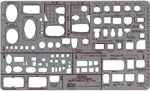 Pickett 等轴测六角螺母和头模板 3 Lavatory Planning - 1/8 and 1/4 inch