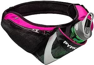 PYFK 跑步腰带水壶腰包带水壶架男式女式腰袋腰包反光适合 iPhone 6/7 Plus
