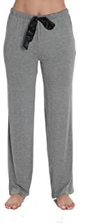 #followme 超柔软纯色弹力针织睡裤 女式