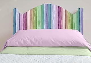 床头板 - PVC,数码印刷,仿木,多色 | 多种尺寸可选 | 轻便,时尚坚固的床板 多种颜色 115x60cm MD00AF2
