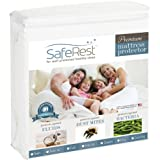 saferest PREMIUM hypoallergenic 防水床垫保护罩 – 乙烯基, PVC and phtha…