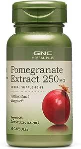 GNC 健安喜 Herbal Plus 石榴提取物 250 毫克