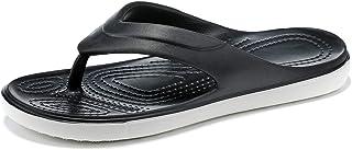 ANNYHOME 女式沙滩和水鞋运动人字拖舒适休闲户外人字拖凉鞋足弓支撑防滑