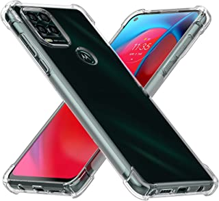 Cresee 适用于摩托罗拉 Moto G Stylus 5G 2021 手机壳,水晶透明保护套保险杠带加固边角超薄贴合防刮防震灵活 TPU 手机壳,适用于 Moto G Stylus 5G 透明
