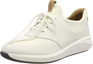Clarks 女士Un Rio 系带德比鞋