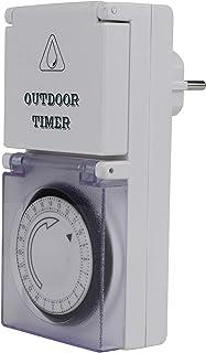 Unitec 46403 日定时器,模拟用于室外区域,IP44