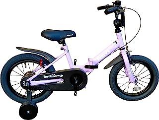 Aizer 儿童折叠自行车 儿童自行车 原创折叠框架 14英寸(约30.8厘米) Ravi(R) Carry