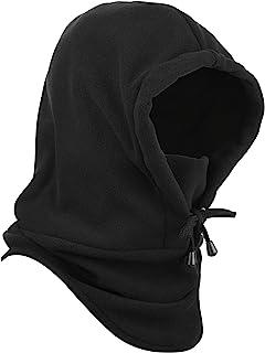 Cosmos 滑雪帽 滑雪帽 无檐小便帽 冬季巴拉克拉瓦斯帽 冬季滑雪户外运动黑色