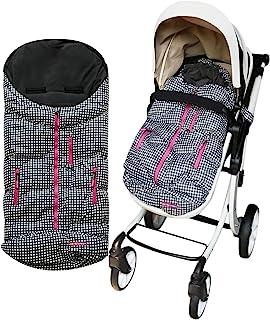 SNOBOCON 防水婴儿推车睡袋,婴儿推车毯冬季户外防寒,让您的宝宝保持温暖