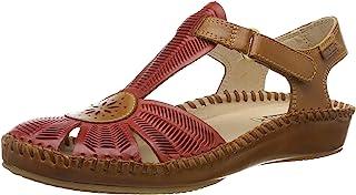 Pikolinos 女士 P. Vallarta 655_v19 闭口凉鞋,欧码 Rot (Coral) 37 EU