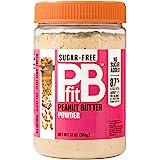 Pbfit 花生酱粉,无糖,含赤藓糖醇和罗汉果,368 克(13 盎司)