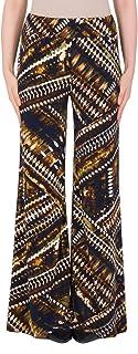 Joseph Ribkoff 阔腿印花长裤款式 184650 棕色/多色 14