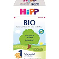 HiPP 喜宝 Bio 婴儿奶粉 1段(适用于初生婴儿),4盒装(4 x 600g)