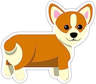 """Corgi Dog 贴花 - 4"""" 乙烯基贴纸 - 笔记本电脑,Macbook,装饰,窗户 乙烯基贴纸"""