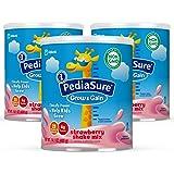 Similac 雅培 PediaSure Grow&Gain 儿童营养奶粉,含蛋白质,DHA,维生素和矿物质,草莓味,1…