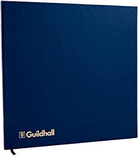 Exacompta Guildhall 账簿,298x305mm,4 个借记,16 个信用卡栏,深蓝色