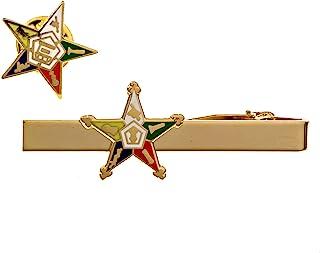 Order of The Eastern Star 领带别针共济会组合包