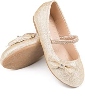 Pipiolo Mary Jane 芭蕾平底鞋 - 女孩鞋(幼儿/小童/大童)