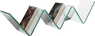 Tomasucci Zig 锯齿架,玻璃,透明