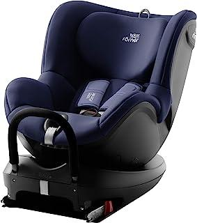 Britax 宝得适 Römer DUALFIX 2 R 儿童汽车安全座椅 适用于0-4岁/0-18kg儿童 可旋转式Isofix锁 组别0+/1,月光蓝
