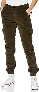 Urban Classics 女士高腰工装灯芯绒裤